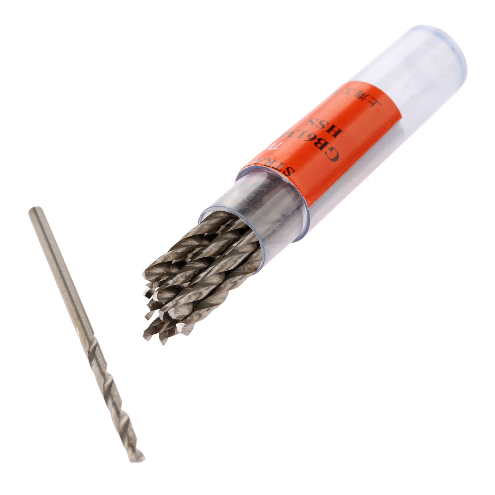 10Pcs Twist Drill Bits HSS Drill Bit 1.5/1.6/1.7/1.8/1.9mm Micro Straight Shank Wood Drilling Electric Drills Woodworking Tools free shipping of 1pc 19 223mm cnc grinded hss m2 made taper shank twist drill bits for various kinds of material drilling work
