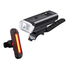 Bicycle Light LED Bicycle Light Set Intelligent Sensor Front Lights Bike Lamp Cycling LED Flashlight Lantern Bicycle Front@1 cheap Frame Battery Fashion Accessories Cycling Locks luces bicicleta Outdoors Mini easy to use low weight Motorcycle Jogging