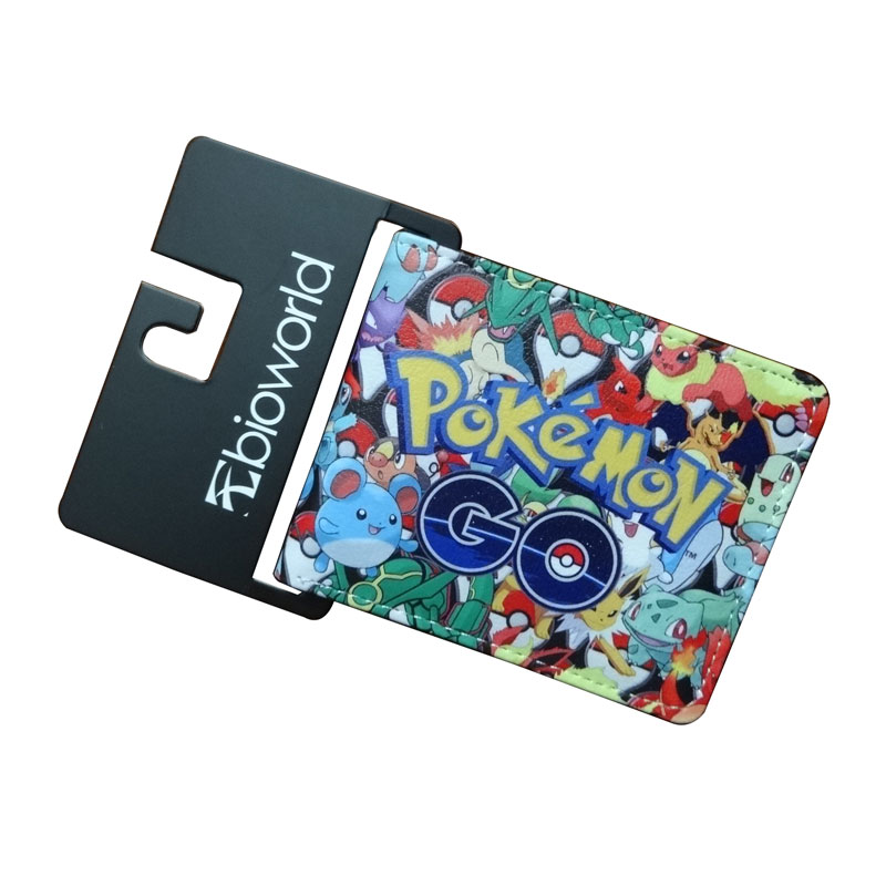 Hot Pikachu Pokemon Wallet Cartoon Purse Pocket Monster Kawaii Pikachu Characters Gift Bags Leather Short Wallets anime cartoon pocket monster pokemon wallet pikachu wallet leather student money bag card holder purse