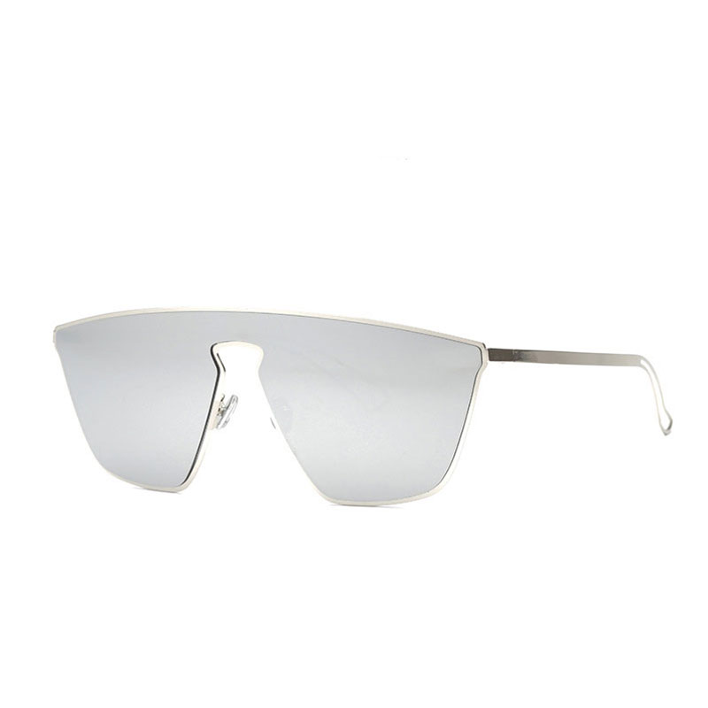 Luxury Men Clear Flat Top Quality Sunglassses Women Cateye Coating Pink Vintage Eyewear Lady Retro Fashion Sun Glasses Oculos