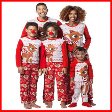 Family Christmas Clothes Pajama Sets Couple Men Women Nightwear Papa Mama Bear Pjs Matching Boy Girls Sleepwear Family Pajamas(China)