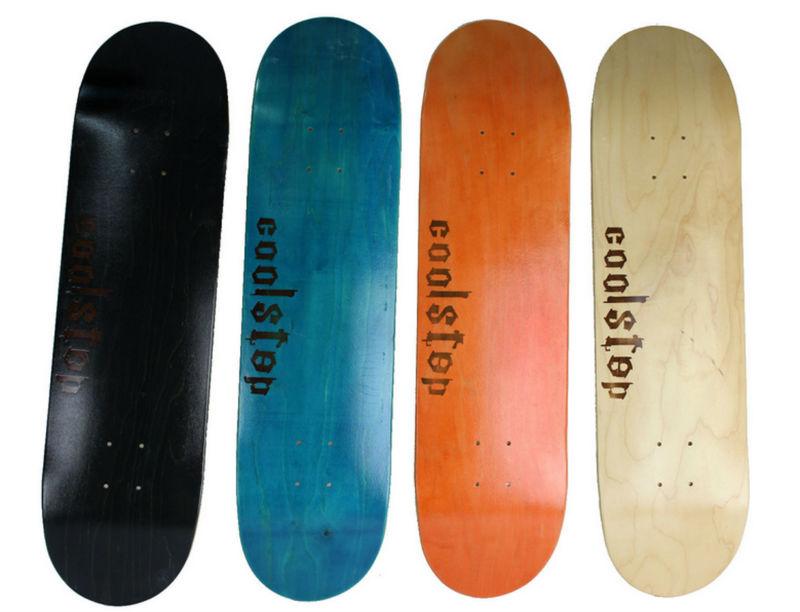 Livraison gratuite skate board pont sept couches maple bois 79 x 20 cm
