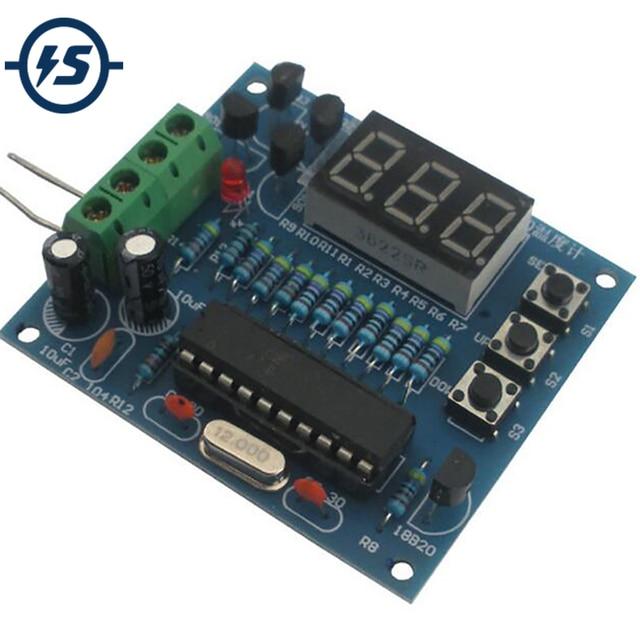 digital temperature controller circuit diagram human eye socket wiring all data diy kits at89c2051 ds18b20 kit automatic voltage regulator