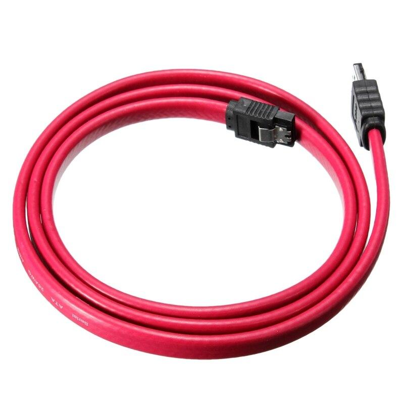 1M 3Ft eSATA-SATAケーブルシリアルATA外部SATAケーブルアダプター7ピンオスコンバーチダーアダプターケーブルシールドケーブルイーサネットケーブル