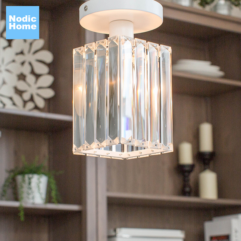 Modern Led Ceiling Lamp Crystal Living Room Foyer Light Home Lighting Lustre Fixtures Led pendant lamp Luxury Led pendant light modern led crystal pendant lights fixtures magic crystal ball lustre loft stairwell 12 crystal light meteor shower crystal lamp