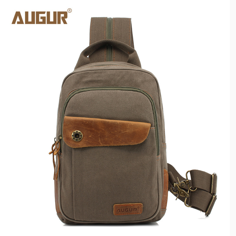 AUGUR Vintage Men Messenger Bags Luxury Brand Canvas Men Crossbody Bag Top Quality Designer Handbags Man Bag видеоигра для ps4 deus ex mankind divided