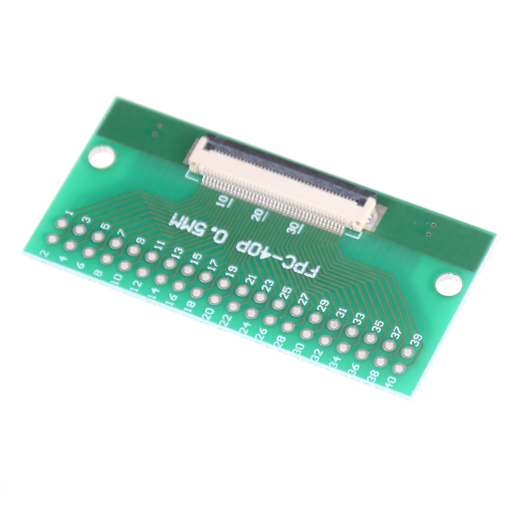 1pcs 40 Pin 0.5mm FFC FPC to 40P DIP 2.54mm PCB Converter Board Adapter