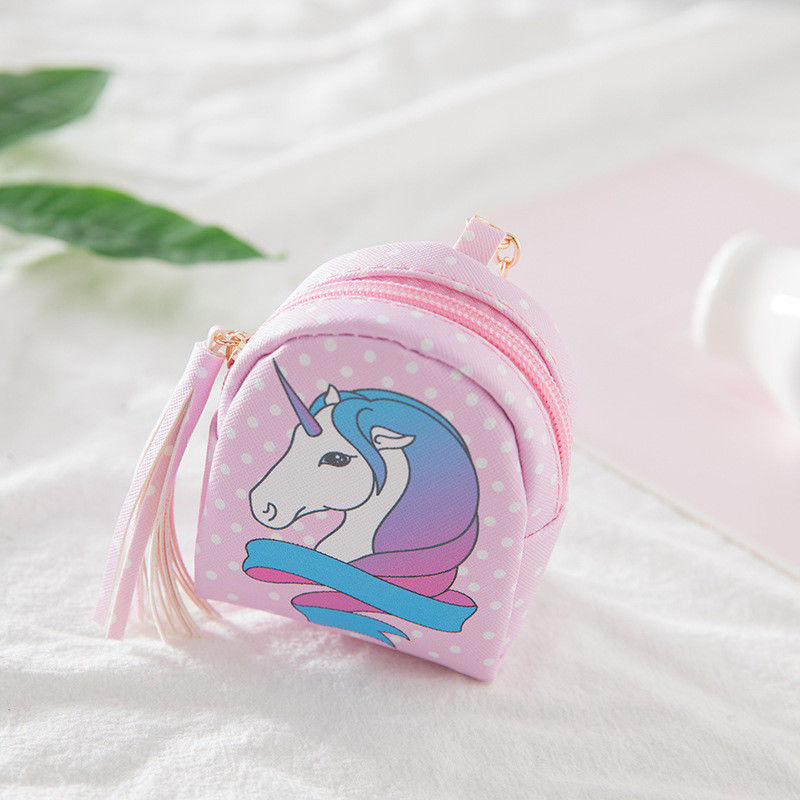 Cartoon Unicorn coin purses women wallets small cute kawaii card holder key money bags for girls ladies purse kids children bulk cute cats coin purse pu leather money bags pouch for women girls mini cheap coin pocket small card holder case wallets