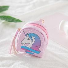 Cartoon coin purses women font b wallets b font small cute kawaii card holder font b