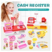 Children's Supermarket Cash Register Boys and Girls Simulati