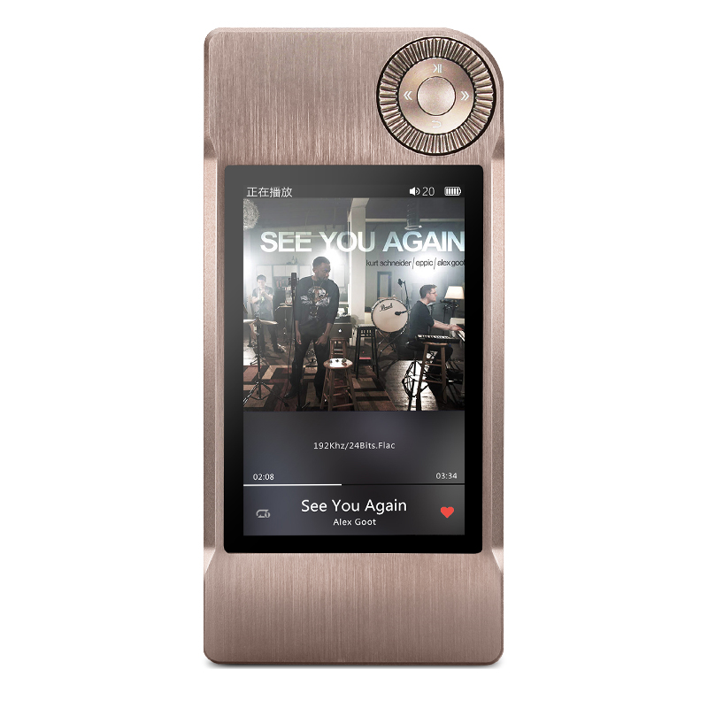 New ! SHANLING M5 Portable Hifi DSD FLAC MP3 Music Player AK4490