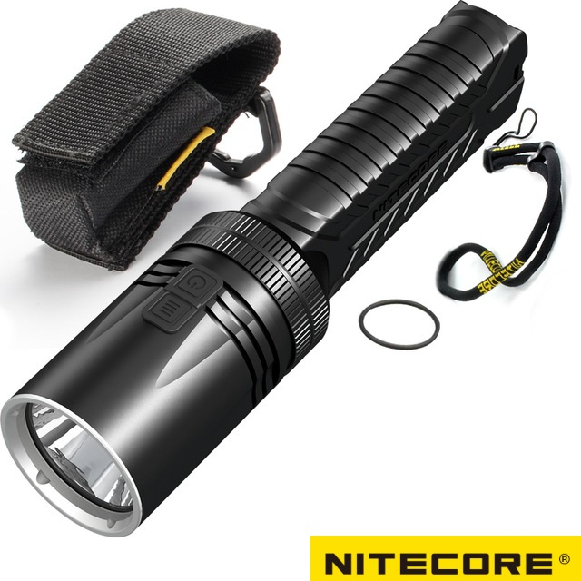 NITECORE EA42 CREE XHP35 HD LED 1800LM 4*AA Flashlight Camping Outdoor Hiking Cave Rescue Portable Tactical Torch Free Shipping 2018 new 100% original nitecore sens aa flashlight cree r5 led fish bicycle camping hiking portable keychain keyring mini torch