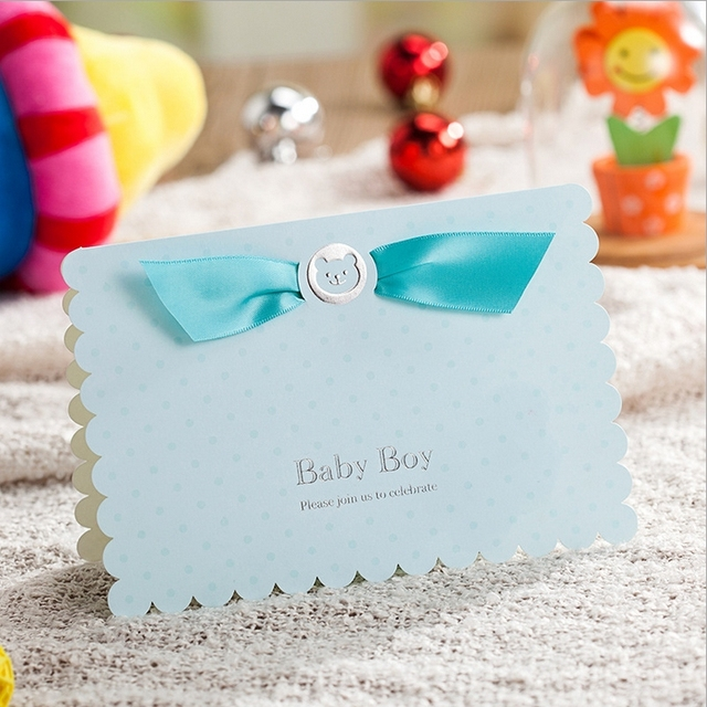 wishmade baby shower invitation cards cw5301 50 pcs lot free