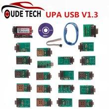 Mais Votados completa Adaptadores UPA USB ECU Tuning Chip Interface V1.3 UPA-USB Programador de Série do Scanner ECU Tuning Chip