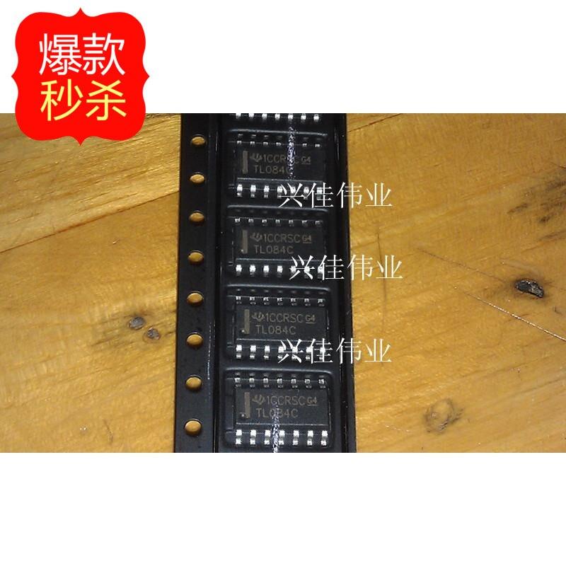 Бесплатная доставка 10 шт./лот TL084CDR TL084CDT TL084 TL084C SOP-14 Операционный Усилитель новый оригинальный