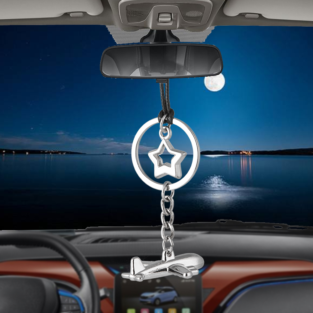Car Pendant Aircraft Ornament Air Plane Hanging Auto Interior Auto Rear View Mirror Decoration Accessories Car styling Hot Gifts