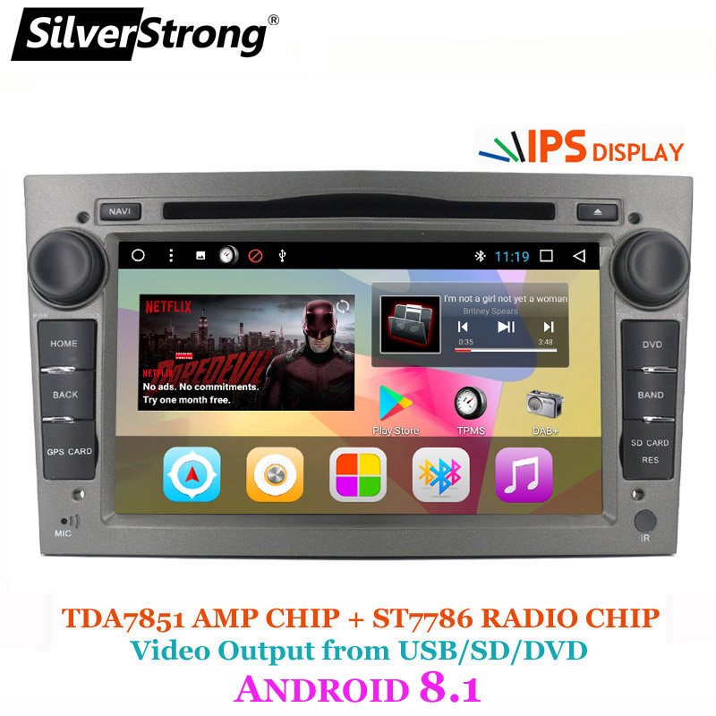 SilverStrong SpainStock 7inch Android8 1 Car DVD for Opel Universal 2Din Radio Car for Opel Astra