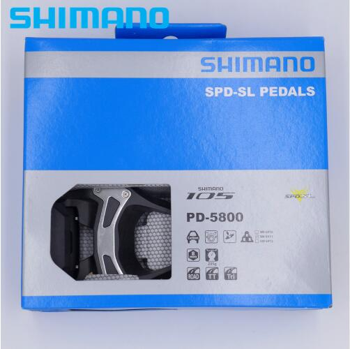 Shimano 105 PD-5800 Carbon SPD-SL Road Bike Pedals 5800 Pedal w// SM-SH11 Cleats