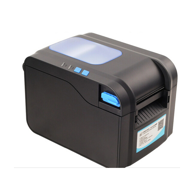 Label Barcode Printer Thermal Receipt or Label Printer 20mm to 80mm Thermal Barcode Printer automatic stripping XP- 370B 3