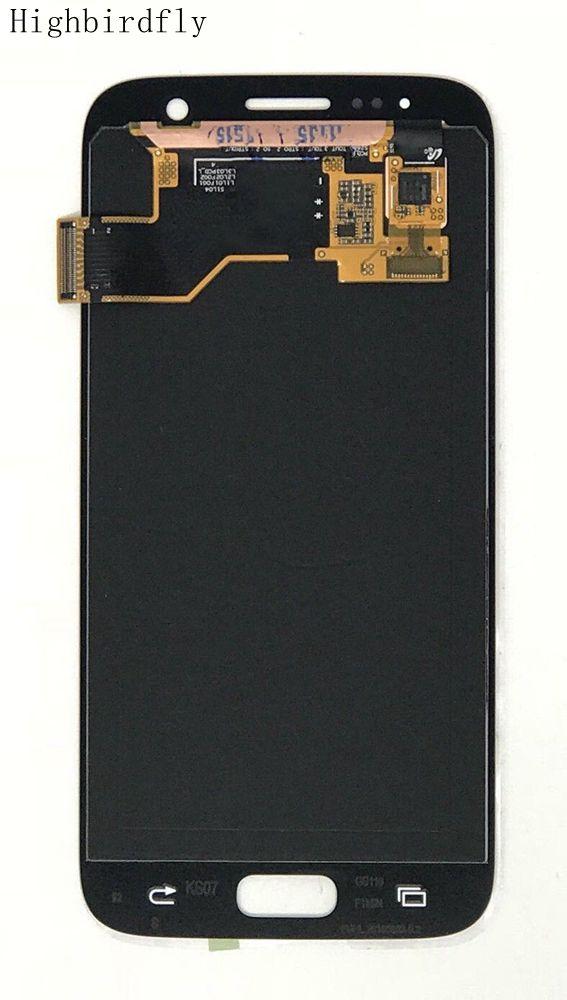 Pour Samsung Galaxy S7 G930 G930F G930V G930P écran Lcd affichage + tactile verre numériseur assemblée réparation Amoled