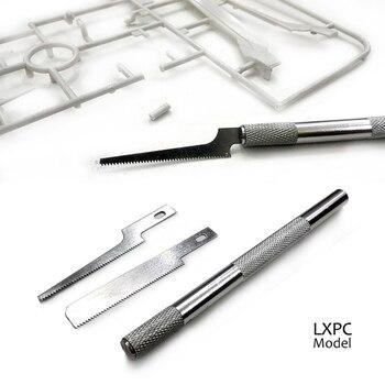 Model maken tool Staal model saw Mini handzaag Dunne blade Met 2 zaagbladen