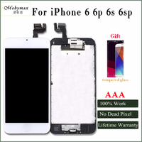 Mobymax AAA Quality LCD For Iphone 6 6p 6s 6sp Display Touch Screen Digitizer Full Assembly
