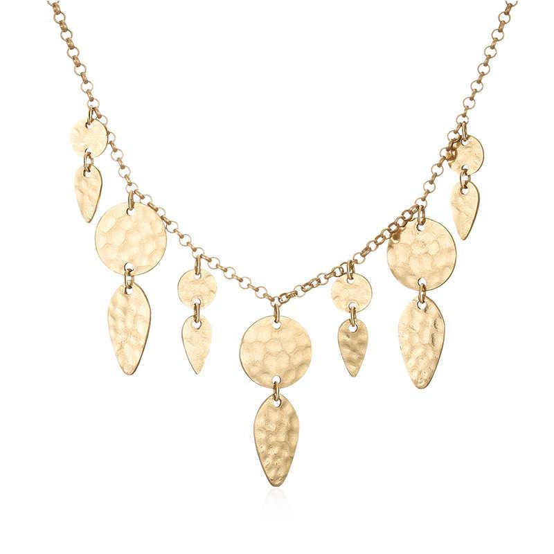 Ensoul Hook Pendant Alloy Necklace Earrings Chain Pendant Alloy Necklace EST-0016