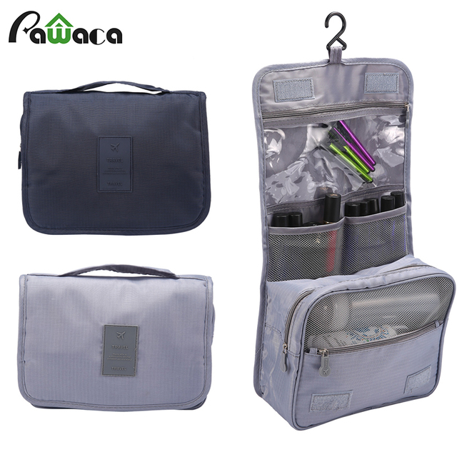 Hanging Travel Toiletry Bag For Women Portable Foldable Cosmetic Makeup Organizer Men Shaving Kits Bathroom