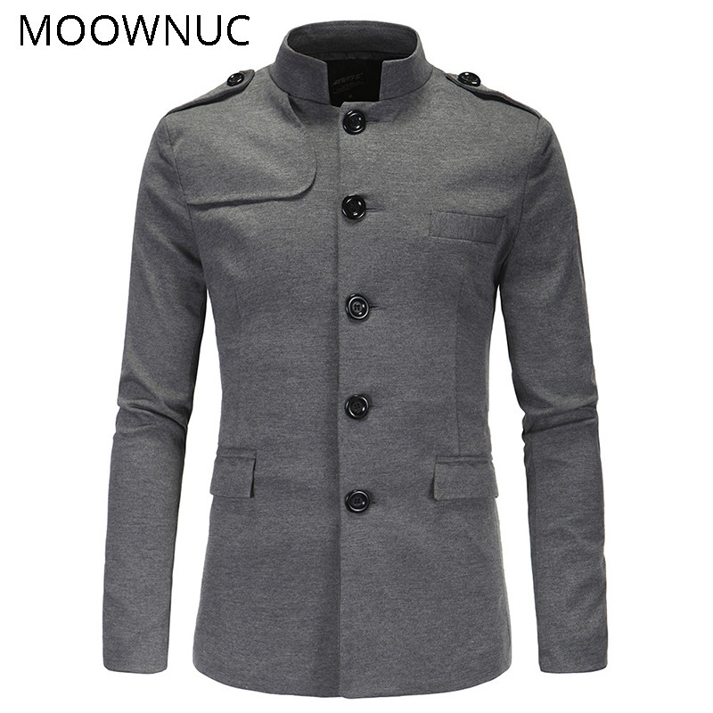 Men 39 s Jacket Coats Masculino Blazers Men 39 s Suit Jackets Hombre Classic style Fashion Slim Casual Solid Stand collar MOOWNUC MWC in Blazers from Men 39 s Clothing