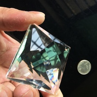 75 มม. Suncatcher แก้วคริสตัลปริซึมโคมระย้าจี้เครื่องประดับตกแต่งหน้าต่าง 3.0in|โคมไฟระย้าคริสตัล|ไฟและระบบไฟ -