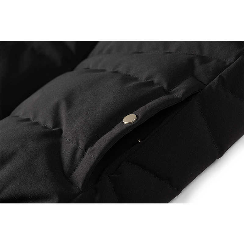 Enjeolon ブランド冬の綿パッド入りパーカーベストのコートの男性厚いベストパーカーコート男性キルティング冬ベストコート 3XL MF0716