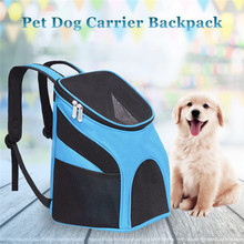 Pet Carrier Backpack Dog Cat Outdoor Travel Packbag Portable Zipper Mesh Breathable Packets