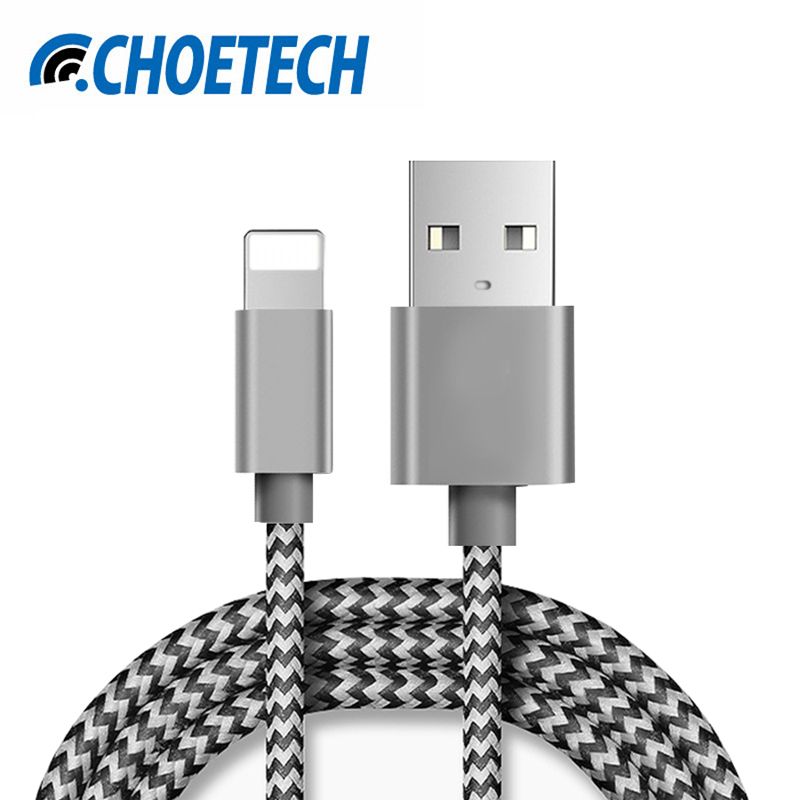 For iPhone Cable, 2.1A Fast USB Charger Cable Mini USB Smart Charging Cable for iPhone 7 7 Plus 6S 6Plus 5 5S iPad 4 2 3 Air iPod