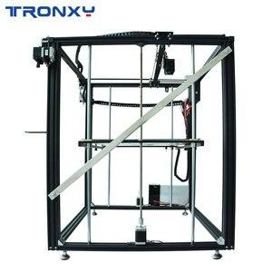 Image 2 - Tronxyビッグdiy 3Dプリンタサイクロプス2で1アウトダブルカラー押出機熱ベッドタッチスクリーン大サイズ500*500*600ミリメートルX5SA 500 2E