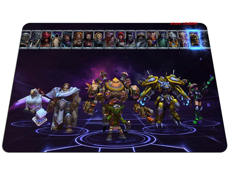 Heroes of the Storm mouse pad custom large pad to mouse notbook computer mousepad hot sales gaming padmouse gamer play mats