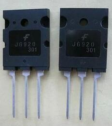 2pcs/lot J6920 HD TV Line Pipe Transistor 1700V / 20A / 60W
