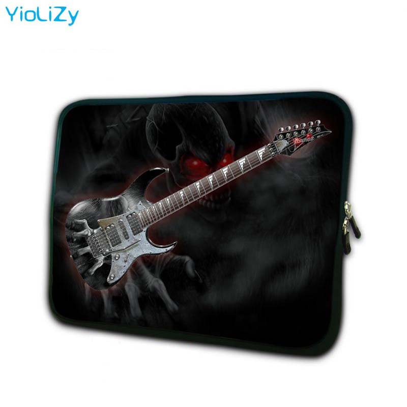 guitar print computer Bag 7 9 notebook sleeve mini laptop bag 7 tablet cover tablet protective case for ipad mini TB 3214 in Tablets e Books Case from Computer Office