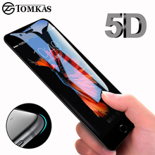 5D yuvarlak kavisli temperli cam iPhone 6 6s 7 8 artı X XR Xs Max 11 Pro cam ekran koruyucu için iPhone 11 12 Pro Max Mini