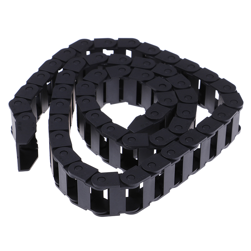 1M Bridge Cable Transmission Chains Towline Transmission Drag Chain Machine for Laser Cutting Engraving CNC Machine tool 10x20mm image