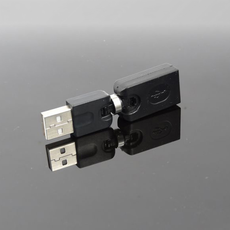 360 Degree Rotating USB 2.0 Male To Female Extension Cable Adapter Converter
