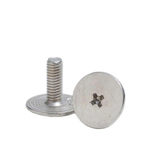 M8 10pcs,10mm 304 Stainless Steel Cross Round Phillips Pan Head Screw Bolt Dia 2 3 4 5 8mm Length 3-100mm