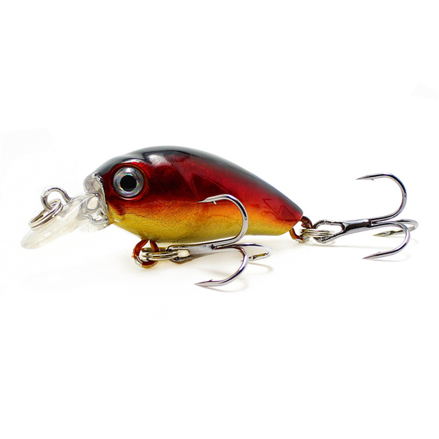 Yuewins Mini Crankbait Fishing Lure 45mm 4.1g Topwater Artificial Japan Hard Bait Minnow Swimbait Trout Bass Carp Fishing QA267 3