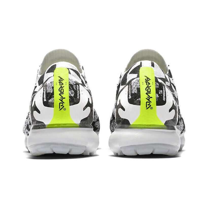 da23d0a32947 ... Original Bright Green Lace NIKE Acronym X Air VaporMax Moc 2 Men s  Running Shoes 2018 New ...