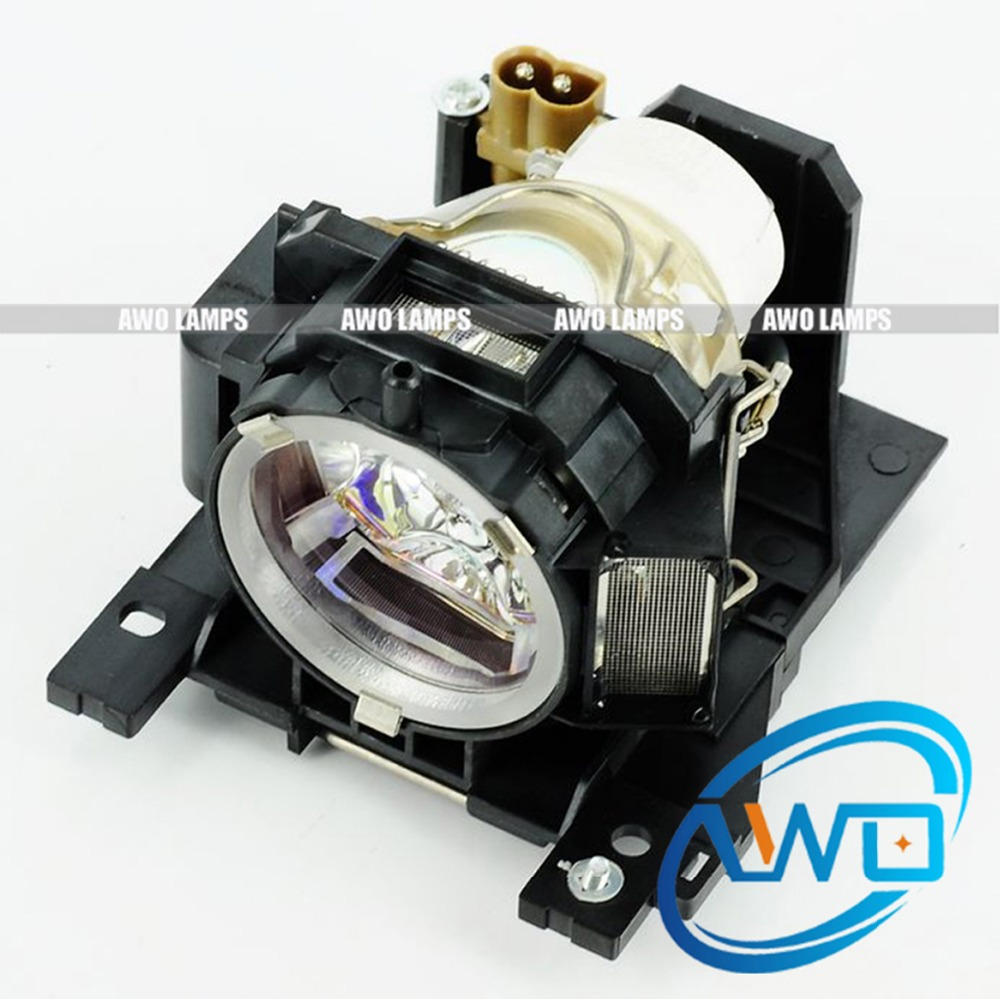 AWO Original Projector Lamp DT00893 NSHA220W Bulb Inside for HITACHI CP-A200/CP-A52 with Housing original projector lamp for hitachi cp hx1098 with housing