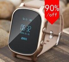 Smartphone Kinder Kid Armbanduhr GSM GPRS GPS Locator Tracker Anti-verlorene Smartwatch Kind Schutz für iphone Samsung
