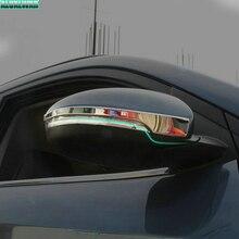 Автомобильный Стайлинг подходит для Hyundai Tucson хромированные боковые зеркальные крышки отделка Литье крышка Накладка отделка авто аксессуары