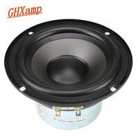 GHXAMP 5 inch Mid Woofer Speaker Midrange Bass Loudspeaker 4ohm 25W Rubber Home Theater For Bookshelf Surround Speaker DIY 1pc