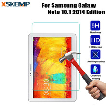 HD Tempered Glass For Samsung Galaxy Note 10.1 2014 Edition P600 P601 P605 Screen Protector Explosion proof Protective Film 2.5D protective clear arm screen guard film for samsung galaxy note 10 1 2014 edition p600 3 pcs