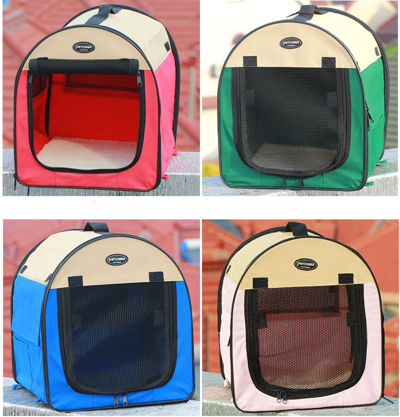 Pet Products Oxford Carry Bag Folding Dog Tent Portable Cat House Kennel Pen Cage Case Labor Room Foldable Pet Mosquito Net Tent-in Houses Kennels u0026 Pens ... & Pet Products Oxford Carry Bag Folding Dog Tent Portable Cat House ...