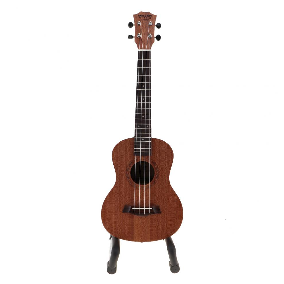 26 Zoll Ukulele 4 Saiten Musikinstrumente 18 Bünde Mahagoni Hawaiian Tenor Ukulele Akustische Cutaway Gitarre